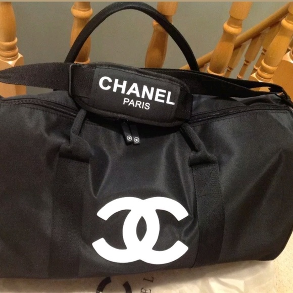 9a125a46fc94 CHANEL Bags | New Large Vip Gift Gym Duffel Bag | Poshmark